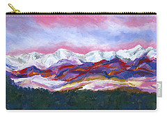 Sangre De Cristo Mountains Carry-all Pouch by Stephen Anderson