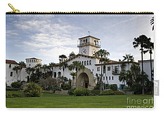 Carry-all Pouch featuring the photograph Santa Barbara by David Millenheft