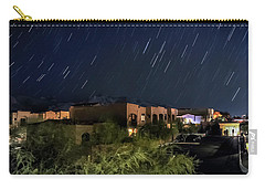 Carry-all Pouch featuring the photograph Santa Catalina Mountain Startrails by Dan McManus