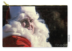 Carry-all Pouch featuring the photograph New Orleans Santa Claus John Goodman In Louisiana by Michael Hoard