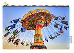 Santa Cruz Seaswing At Sunset 6 Painterly Carry-all Pouch