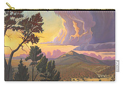 Santa Fe Baldy - Detail Carry-all Pouch