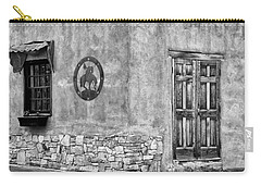 Carry-all Pouch featuring the photograph Santa Fe New Mexico Street Corner by Ron White
