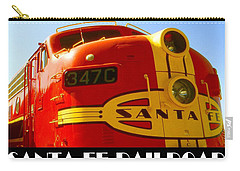 Santa Fe Railroad Color Poster Carry-all Pouch