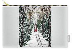 Santa Flying To Your House Carry-all Pouch