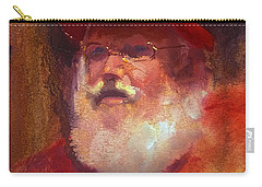 Santa Carry-all Pouch by Karen Whitworth