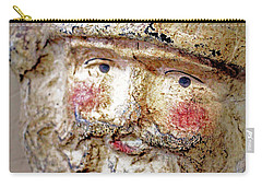 Carry-all Pouch featuring the photograph Santa by Lynn Sprowl