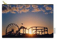 Santa Monica Pier Carry-all Pouch by Art Block Collections