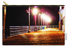 Santa Monica Pier At Night Carry-all Pouch