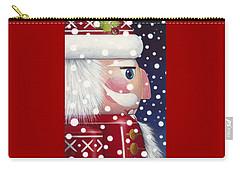 Santa Nutcracker Carry-all Pouch