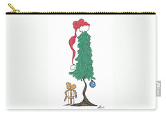 Santa Tree Carry-all Pouch