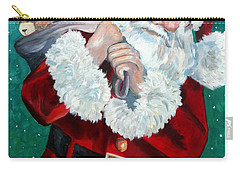 Santa's Coming To Town Carry-all Pouch