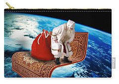 Santa's Flying Carpet Carry-all Pouch