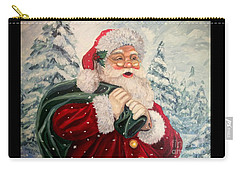 Santa's On His Way Carry-all Pouch