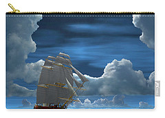 Santisima Trinida In The Moonlight 2 Carry-all Pouch