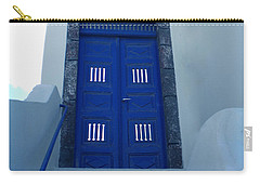 Santorini Door  To Heaven  Carry-all Pouch