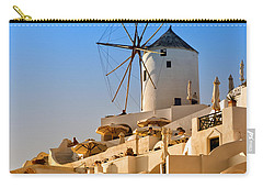 Santorini Windmill 05 Carry-all Pouch
