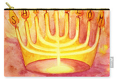 Sar Shalom Carry-all Pouch by Nancy Cupp
