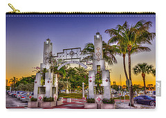 Sarasota Bayfront Carry-all Pouch by Marvin Spates