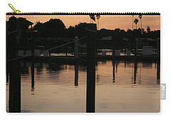 Sarasota Sunset Carry-all Pouch by Emmy Marie Vickers