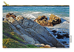 Sarcophagus Formation On Seaside Rocks Carry-all Pouch by Susan Wiedmann