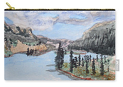 Saskatchewan River Crossing - Icefields Parkway Carry-all Pouch