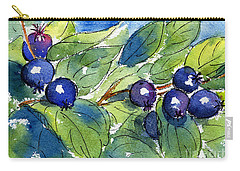 Saskatoon Berries Carry-all Pouch