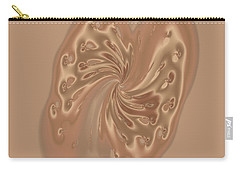 Satin Butterfly Carry-all Pouch