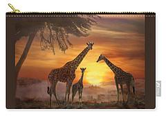 Savanna Sunset Carry-all Pouch