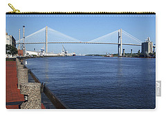 Savannah River Bridge Ga Carry-all Pouch