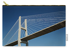 Savannah River Bridge Georgia Usa Carry-all Pouch