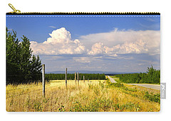Carry-all Pouch featuring the photograph Sawmill Creek Road by Cathy Mahnke