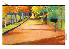 Sawmill Road Autumn Vermont Landscape Carry-all Pouch