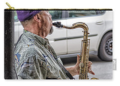 Sax In The Street Carry-all Pouch