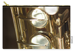 Saxophone Close Up Carry-all Pouch