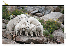 Say Cheese Carry-all Pouch by Jim Garrison