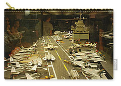 Scale Model Aircraft Carrier Carry-all Pouch