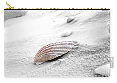 Carry-all Pouch featuring the photograph Scallop Shell by Robert Meanor
