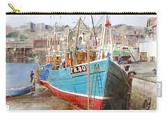 Scarborough Harbour Carry-all Pouch by Ron Harpham