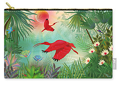 Scarlet Corocoro - Limited Edition 1 Of 20 Carry-all Pouch