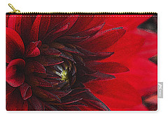 Scarlet Dahlia Carry-all Pouch
