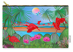 Scarlet Party - Limited Edition 1 Of 20 Carry-all Pouch
