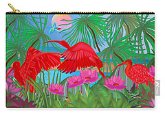 Scarlet Summer Dance - Limited Edition 1 Of 20 Carry-all Pouch