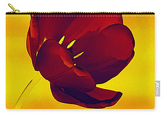 Scarlet Tulip At Sunset Carry-all Pouch