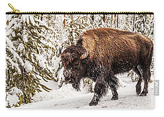 Scary Bison Carry-all Pouch
