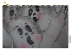 Carry-all Pouch featuring the photograph Scary Ghosts by Patrice Zinck