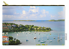 Scenic Overlook Of Cruz Bay St. John Usvi Carry-all Pouch