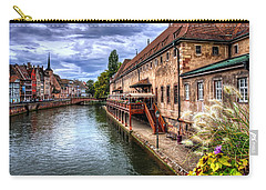 Scenic Strasbourg  Carry-all Pouch by Carol Japp