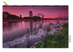 Scenic Sunset Carry-all Pouch by Jonah  Anderson