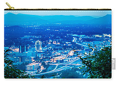 Carry-all Pouch featuring the photograph Scenics Around Mill Mountain Roanoke Virginia Usa by Alex Grichenko